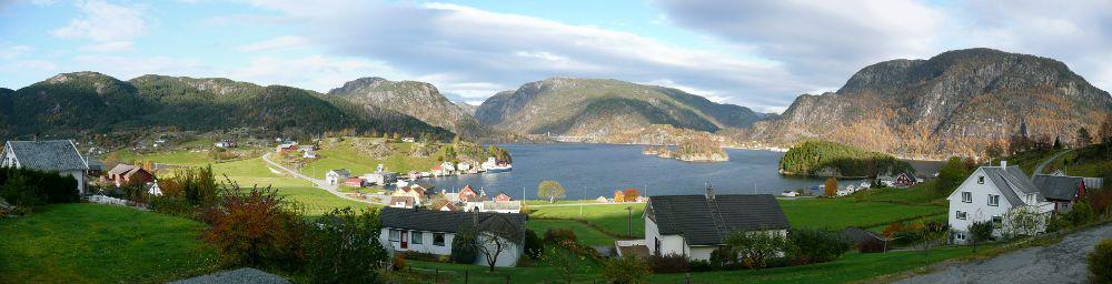 Bilete av Erfjorden