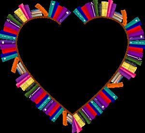 Hjertet med bøker